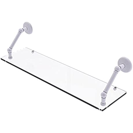 Allied Brass PMC 1 30 WHM Prestige Monte Carlo Collection 30 Inch Floating Glass Shelf