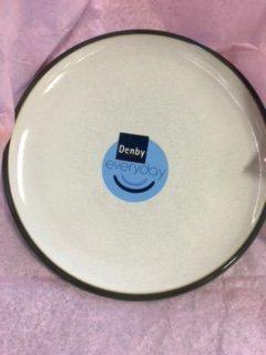 Denby Everyday Mushroom Dinner Plate & Amazon.com   Denby Everyday Mushroom Dinner Plate: Salad Plates