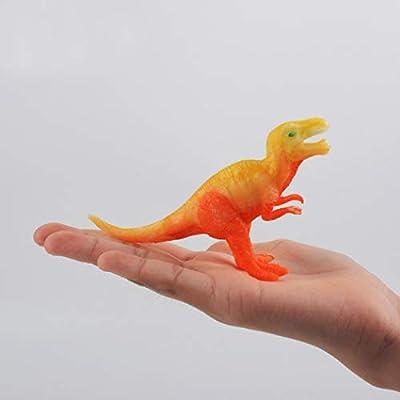Coxeer Dinosaur Art Kit 3D Painting Dinosaur Toy Dinosaur Figurine Dinosaur Art Project for Birthday Gift Kids Toddler Educational Toy: Toys & Games