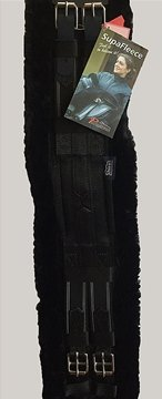 Shires Supafleece Dressage Girth (26, Black)