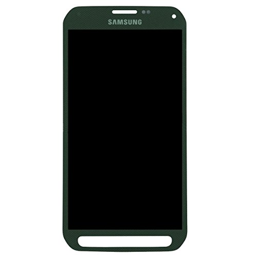 Touch Screen Digitizer and LCD for Samsung Galaxy S5 Active - Camo Green by Group Vertical