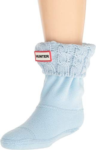 Hunter Kids Unisex 6 Stitch Cable Boot Sock
