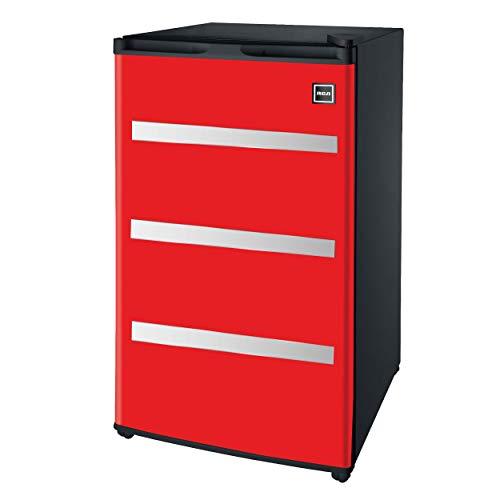 RFR329-Red Garage Fridge Tool Box, 3.2 Cubic Feet, Red (Renewed)