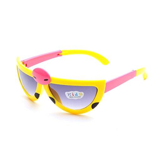 AStorePlus 2016 New Kids Girls Boys Polarized Sunglasses Cute Ladybug - Sunglasses Girls Cute With