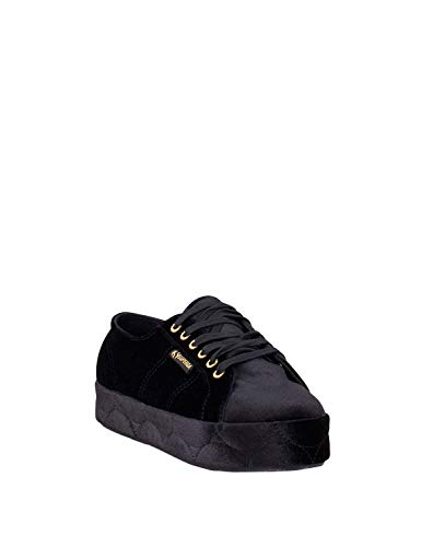 Sneakers da nero donna taglia 36 velvetchenillew 2730 colore Felpa Superga SqwASr