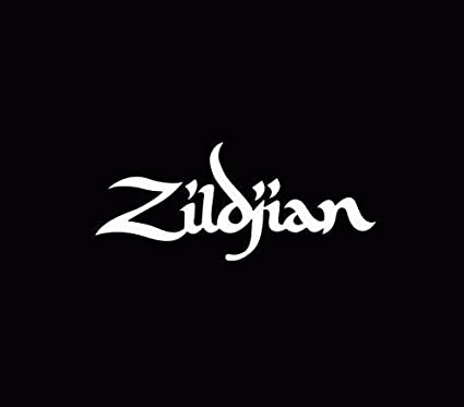 Zildjian decal window sticker car truck white die cut vinyl decal for windows cars