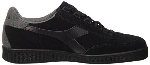 Diadora Men's B.Original Low-Top Sneakers Black (Nero/Grigio) 24Eq2aZ