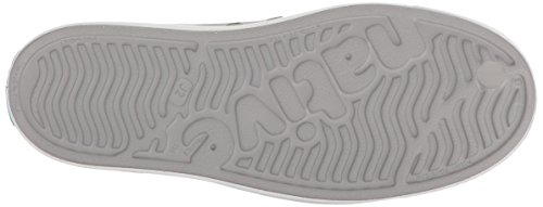 Native Kids Block Print Jefferson Water Proof Shoes, Pigeon Grey/Shell White/Gradient Block, 5 Medium US Big Kid by Native Shoes (Image #3)