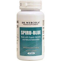 Dr Mercola Spiru-Blue - 120 Comprimés