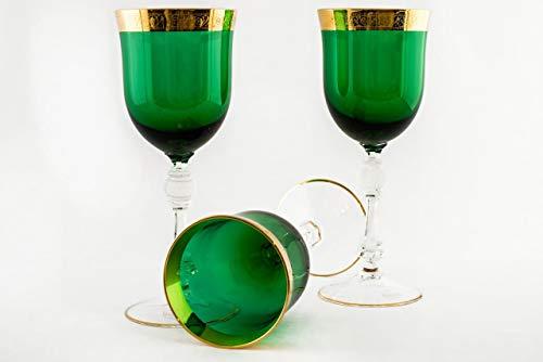 Crystal Wine Bohemia Glasses - Bohemia Wine Glasses- Bohemia Glass