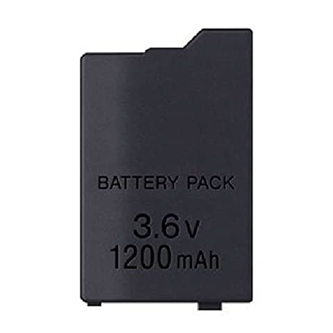 Generic 1200mAh 3.6V Rechargeable Battery Pack Replacement Compatible for Sony PSP2000/3000 (Psp 2000 Console)