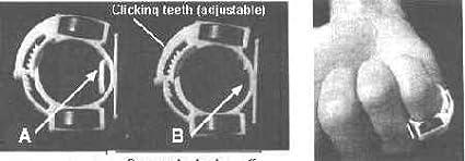 Odoukey Destornillador magn/ético magn/ética del Anillo Antideslizante aleaci/ón de Aluminio Accesorios de Metal Magnetizador Tornillo de 1//4 Pulgadas Destornillador Hexagonal y Poder bits Azul