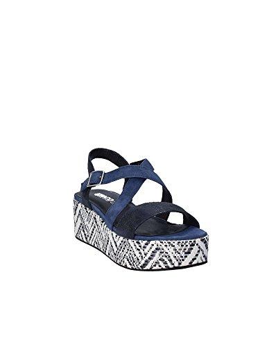 Sandales Bleu Femmes amp;co Compensées Igi 1189 aqZE6v