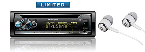 (Pioneer DEH-S5100BT in-Dash Built-in Bluetooth CD, MP3, Front USB, Auxiliary, Pandora, AM/FM, Built in iPod, iPhone and iPad Controls, Dual Phone Connection Stereo Receiver)