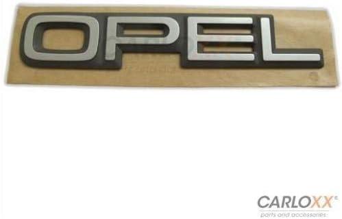 Opel Emblem Schriftzug Badge Kadett Omega Corsa Senator Aufkleber Sticker Auto