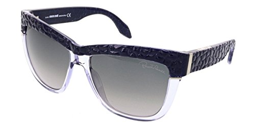 Roberto Cavalli Women's Rea Wayfarer Sunglasses, Lavender Translucent/Purple, - Sunglasses 2013 Cavalli