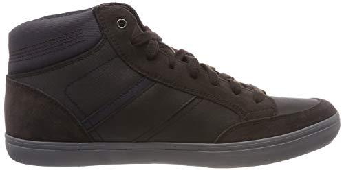 E Collo U Geox C6mf4 Uomo Marrone coffee Sneaker Alto Box navy A fEqw16Aw