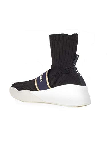Polyester Skate 557916w1nf11049 Femme Mccartney Stella Noir Chaussures De I68xq