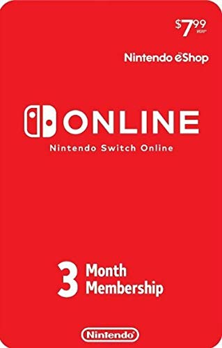 Nintendo Switch Online Individual Membership Card (3-Month) by FastCard