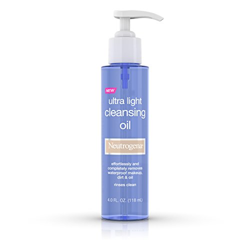 Neutrogena Ultra Light Cleansing Oil, 4 Fl. Oz