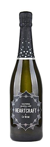NV Heartcraft California Sparkling White Wine 750ml Wine