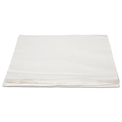 (HOSPECO NLRVDFBW TASKBrand Linen Replacement Napkins, White, 16 x 16,)