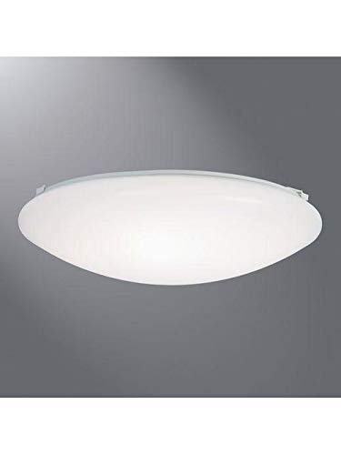 Eaton Lighting Fmled8Wh840Pr 8 Inch 120 Volt 8 W 635 Lumen 4000 K Led Round Flush Mount Fixture (2 Units)