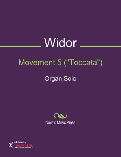 Organ Solo Sheet Music (Movement 5 (