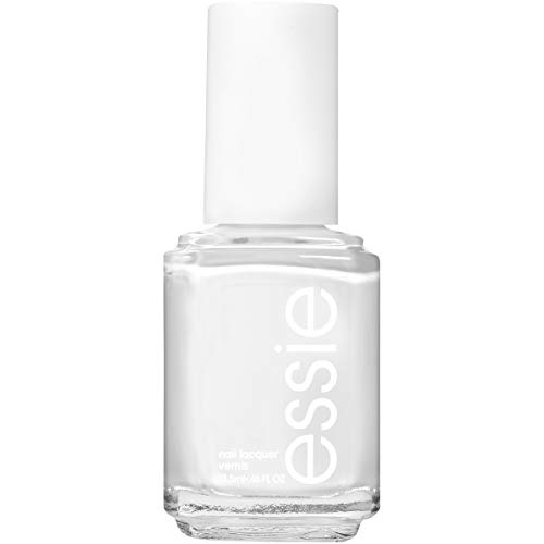 Sheer Organic Shine Pearl - essie Nail Polish, Glossy Shine Finish, Blanc, 0.46 fl. oz.