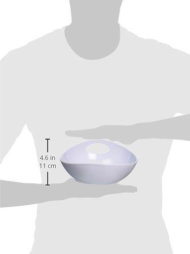 Image of Wetnoz 23563 3-Cup Studio Scoop Dog Dish, Medium, Snow