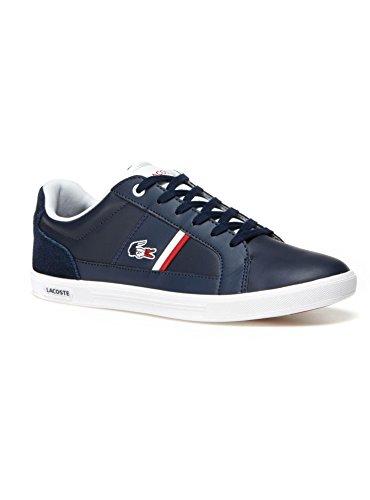 Lacoste Uomo Scarpe / Sneaker Europa 317 SPM Bleu Foncé