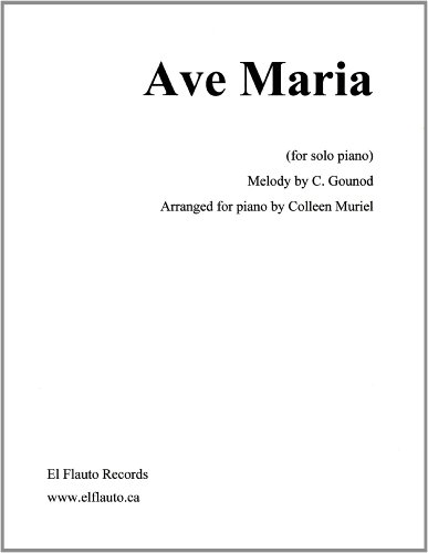 ave maria sheet music - 8