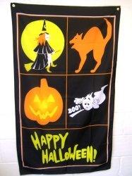 Novelties Direct Happy Halloween Flag MIdland