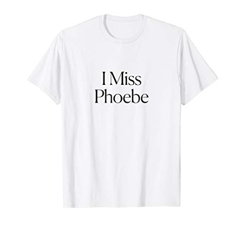 Man Womens Cut T-shirt - The Cut - I Miss Phoebe Tee