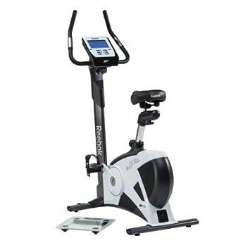 Reebok ergómetro de Bicicleta, Blanco y Negro, re1 14310g: Amazon ...