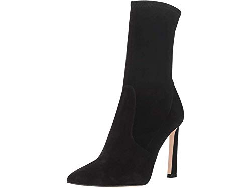 Stuart Weitzman Women's Rapture 100 Black Suede 8 M US M