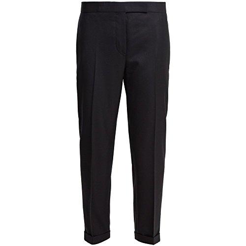 スリップ貧困奨学金(トム ブラウン) Thom Browne レディース ボトムス?パンツ クロップド Mid-rise cropped wool-twill trousers [並行輸入品]