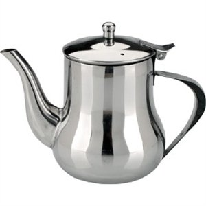Arabian Coffee Pot 35oz capacity stainless steel coffee pot. by Nextday Catering Equipment Supplies UK