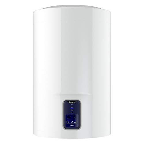 Ariston Termo Electrico Lydos Eco Blu, ClaseB Calificacion Energetica ErP, Capacidad 50 Litros, Titanio Esmaltado, 230 V, Bajo Consumo, 3201881, Blanco