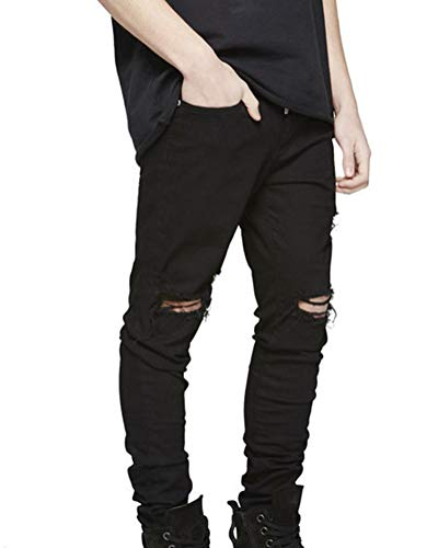 Uomo Maschile Marea Jeans Suncaya Strappati Pantaloni K18 Marca Di Moto dP8WnW