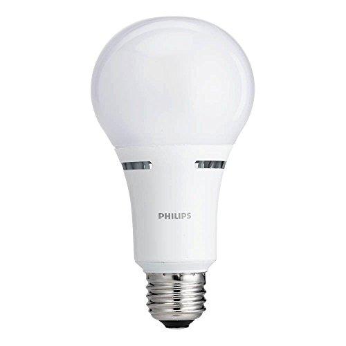 Philips (TM) 3-Way LED 100-60-40 Watt Equivalent A21 Light Bulb, Soft White Light - Led Way 3 Philips Bulb