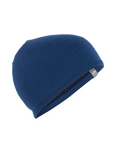 Icebreaker Pocket Hat Accesorio para la Cabeza, Unisex Largo/Midnight Navy