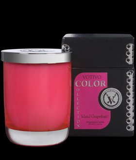 Collection Color Votivo - Votivo Color Collection holiday Island Grapefruit Candle 6.1 oz NEW