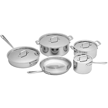 All-Clad 5000-9 Stainless 9-Piece Cookware Set