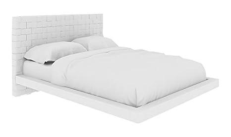 Amazon.com: Casabianca Home Zack Plataforma cama tapizado ...