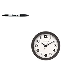 KITMIL625485SAN30001 - Value Kit - Howard Miller Kenwick Wall Clock (MIL625485) and Sharpie Permanent Marker (SAN30001)