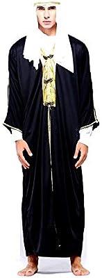 KIRALOVE Disfraz de jeque árabe musulmán para Hombre Adulto niño ...