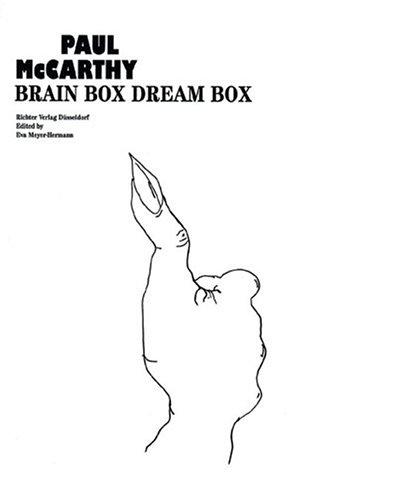 Paul McCarthy: Brain Box, Dream Box by Brand: Richter Verlag