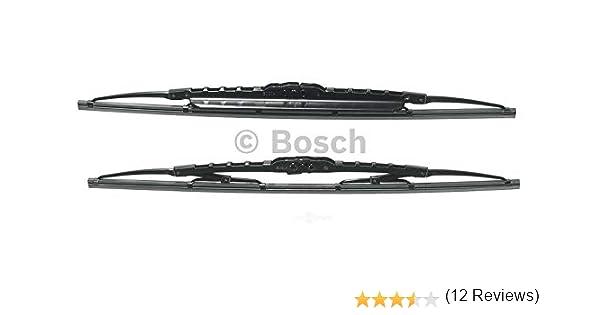 Bosch 3397118561 Twin Spoilers 500S - Limpiaparabrisas (2 unidades, 500 mm y 500 mm): Amazon.es: Coche y moto