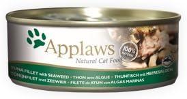 Applaws Cat Tuna Fillet & Seaweed, Lata, 1.68kg